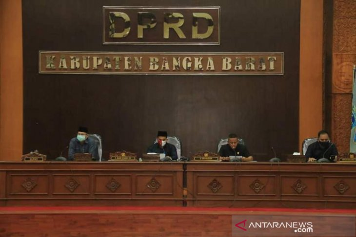 DPRD Bangka Barat gelar dua rapat paripurna