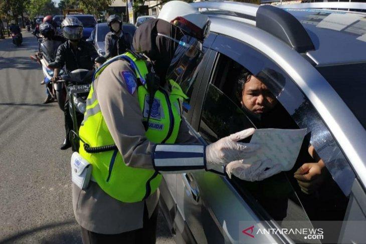 Sebanyak 4.986 pengendara ditilang selama Operasi Patuh Intan 2020