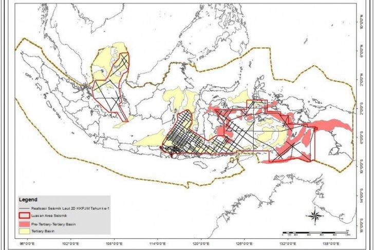 RI berhasil survei seismik terpanjang di Asia Pasifik