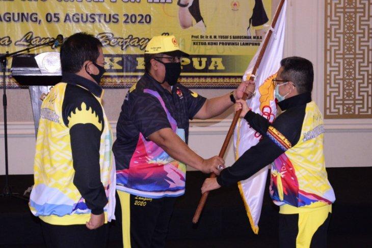 Gubernur Lampung targetkan peringkat delapan PON XX Papua
