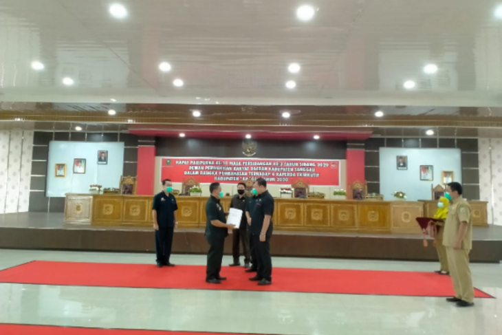 Eksekutif dan legislatif di Sanggau bahas empat Raperda