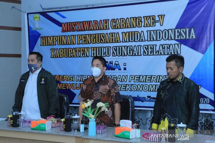 HIPMI HSS laksanakan Muscab V, dukung peningkatan perekonomian daerah