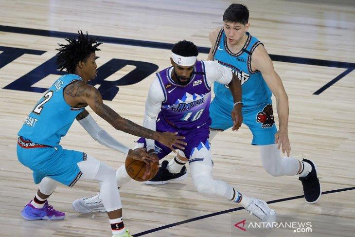 Tundukkan Grizzlies 124-115, Jazz kantungi kemenangan kedua sejak restart