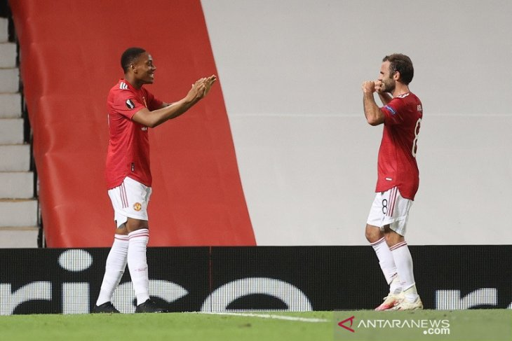 Manchester United ke perempat final Liga Europa