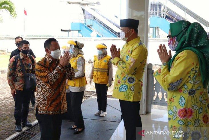Mendagri Tito Karnavian tiba di Bengkulu