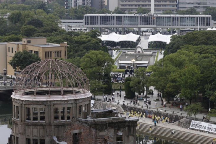 Lonceng berdentang di Hiroshima, tandai peringatan 75 tahun bom atom