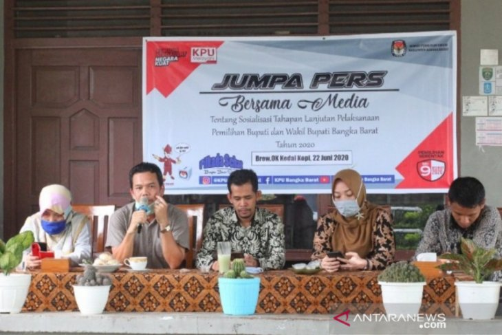 KPU Bangka Barat dorong peran kelompok perempuan pada Pilkada 2020