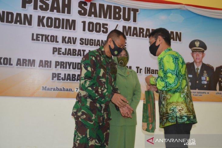 Ari Priyudono gantikan Sugianto jabat Dandim 2005/Marabahan