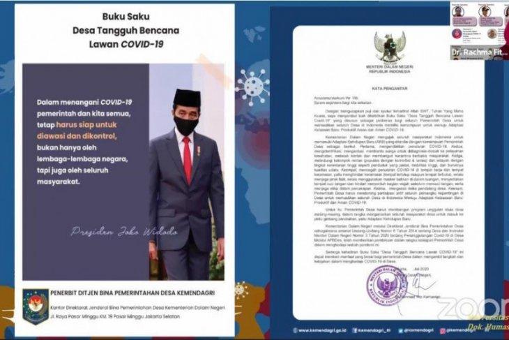 UI  terbitkan Buku Saku Desa Tangguh Bencana Lawan COVID-19