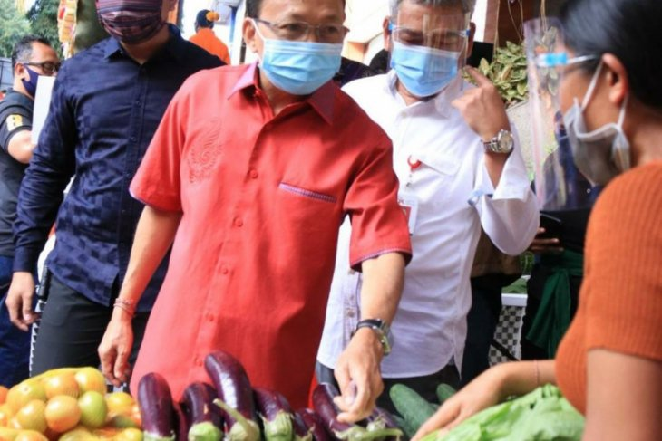 Gubernur Bali apresiasi OJK adakan Pasar Gotong Royong