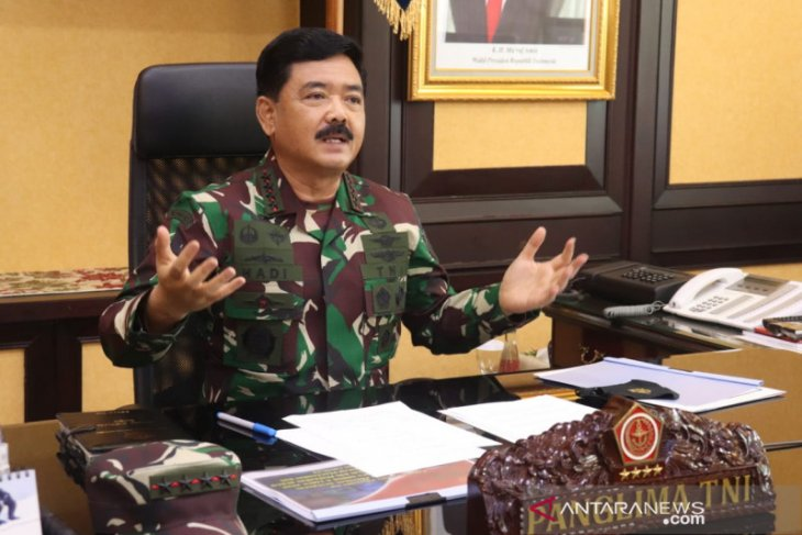 Panglima TNI Marsekal Hadi Tjahjanto mutasi jabatan 62 perwira tinggi