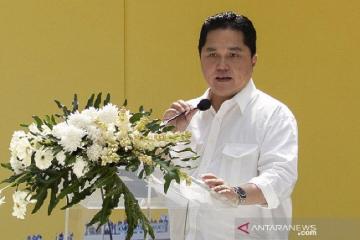 Menteri BUMN  dorong program digitalisasi rantai pasok logistik