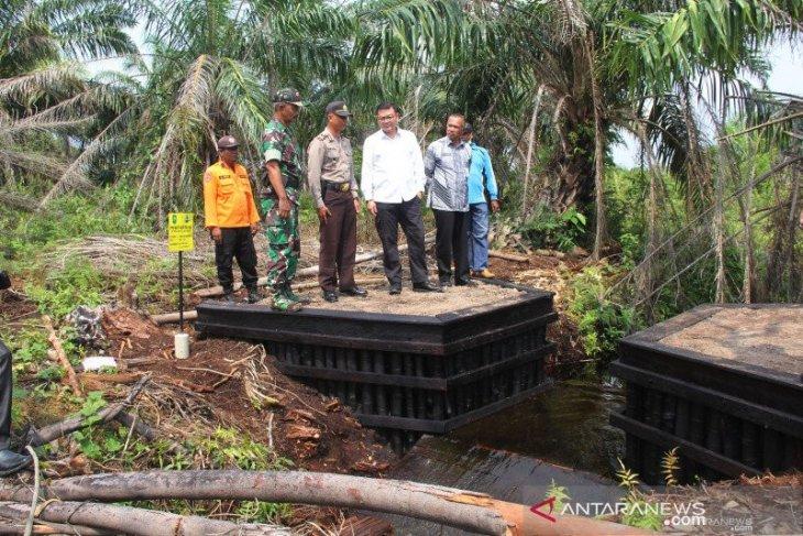 BRG: Pembangunan infrastruktur pembasahan gambut libatkan masyarakat