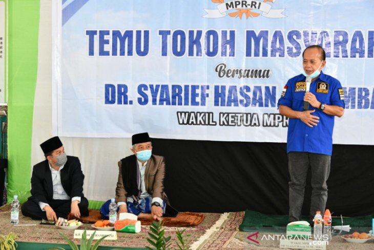 Wakil ketua MPR Sjarifuddin Hasan minta pemerintah perhatikan kesulitan dunia pendidikan