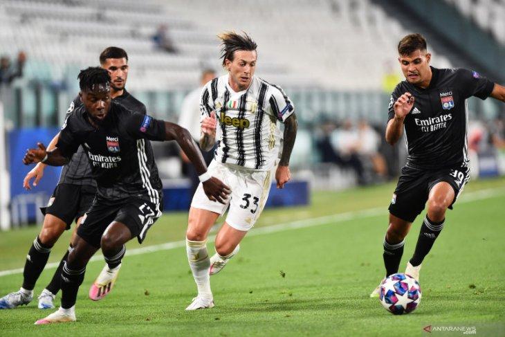 Liga Champions - Lyon lolos ke perempat final kendati dikalahkan Juventus