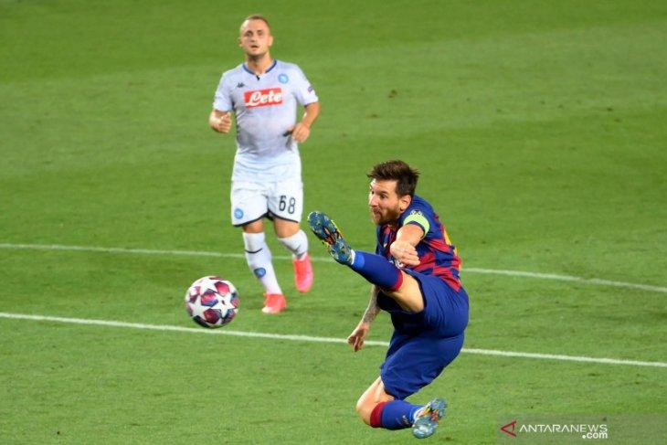 Barcelona amankan tiket Liga Champions, tundukkan Napoli 3-1