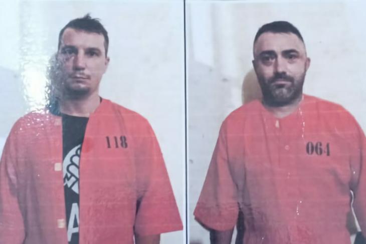 Dua tersangka skimming asal Rumania dilimpahkan ke Kejari Denpasar