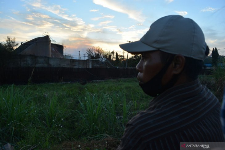 Pabrik bioetanol di Mojokerto terbakar dan disertai ledakan