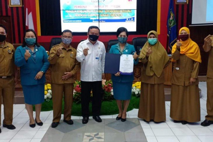Empat Kabupaten di Kalbar raih penghargaan dari BKKBN RI