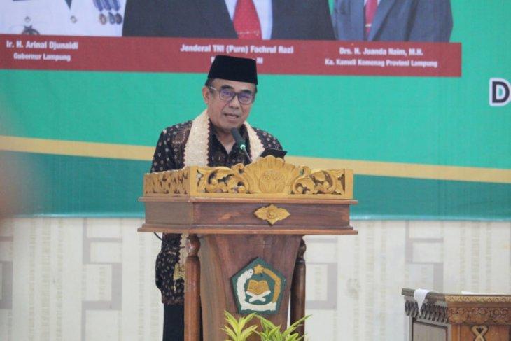 Menag Fachrul Razi sebut empat syarat pembelajaran tatap muka di madrasah