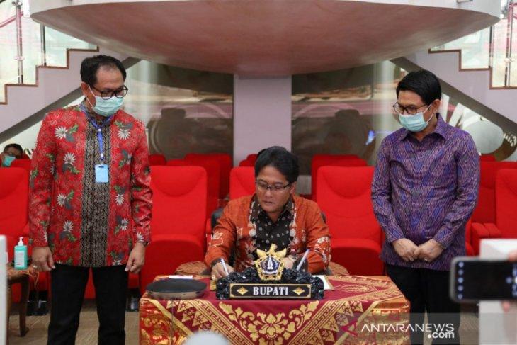 Pemkab Badung tandatangani kesepakatan induk dengan Kementerian Keuangan