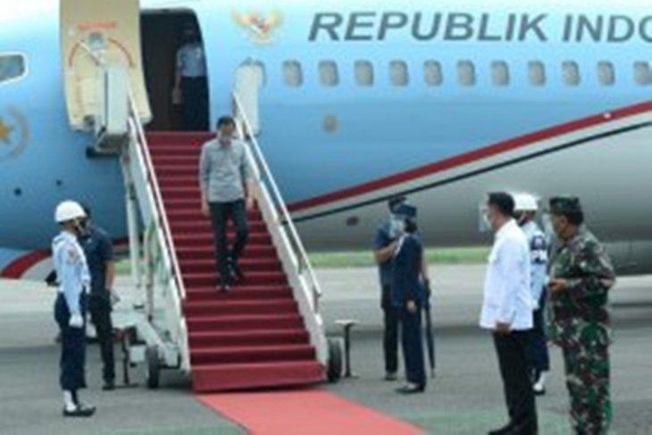 Presiden Jokowi  tinjau fasilitas uji klinis vaksin COVID-19