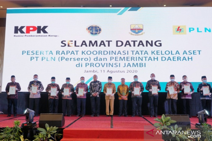 PLN Jambi targetkan 80 persen aset tanah bersertifikat