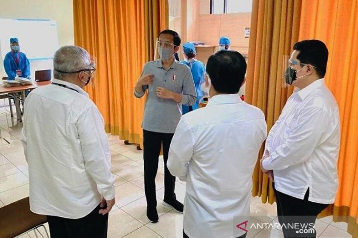 Gandeng perusahaan asing untuk percepat ketersediaan vaksin COVID-19