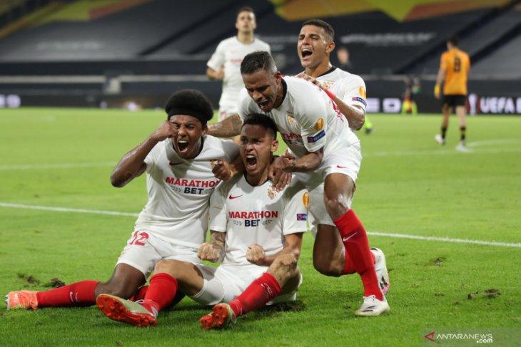 Gol tunggal Ocampos loloskan Sevilla ke semifinal Liga Europa