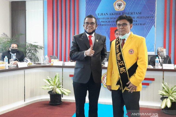 Prestasi Ihsan Noor jadi kebanggaan Pascasarjana ULM