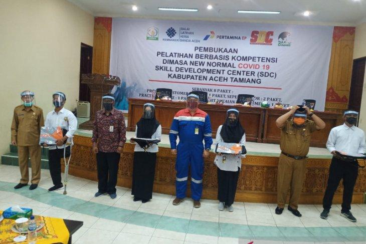 Bupati Aceh Tamiang dukung Rantau Field latih kelompok disabilitas