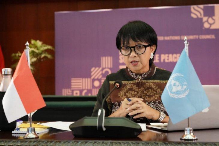 Pimpin sidang debat terbuka di DK PBB, RI perkuat diplomasi damai di masa pandemi