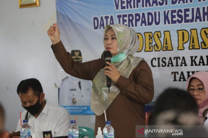 Bupati Irna Berharap Hasil Musdes dapatkan Data DTKS Yang Valid