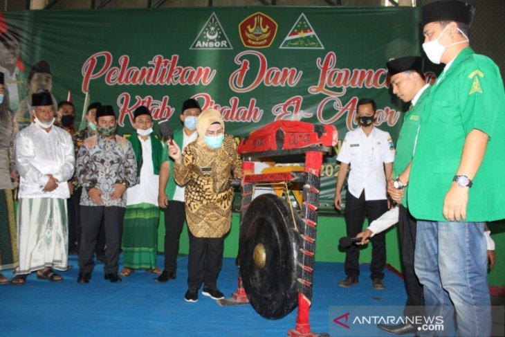 Bupati Serang minta GP Ansor kawal program pembangunan