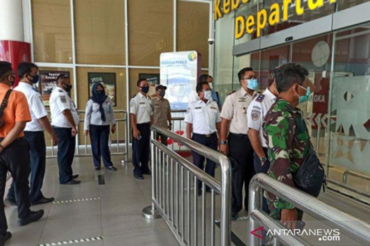 Satgas COVID-19 Babel lakukan sidak di Bandara Depati Amir