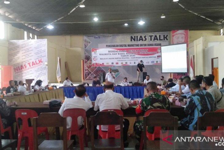 KPU Gunungsitoli ajak masyarakat sosialisasikan pelaksanaan  Pilkada