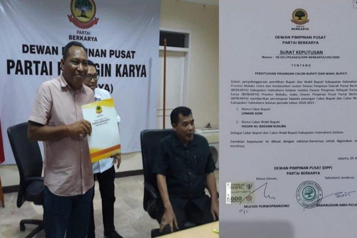 Partai Berkarya evaluasi rekomendasi ke balon di pilkada Malut