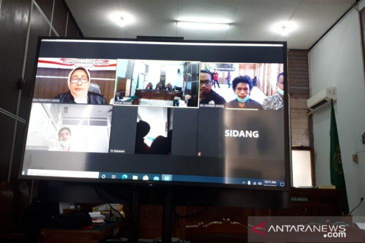 Sidang penembakan mahasiswa Kendari hadirkan tiga saksi