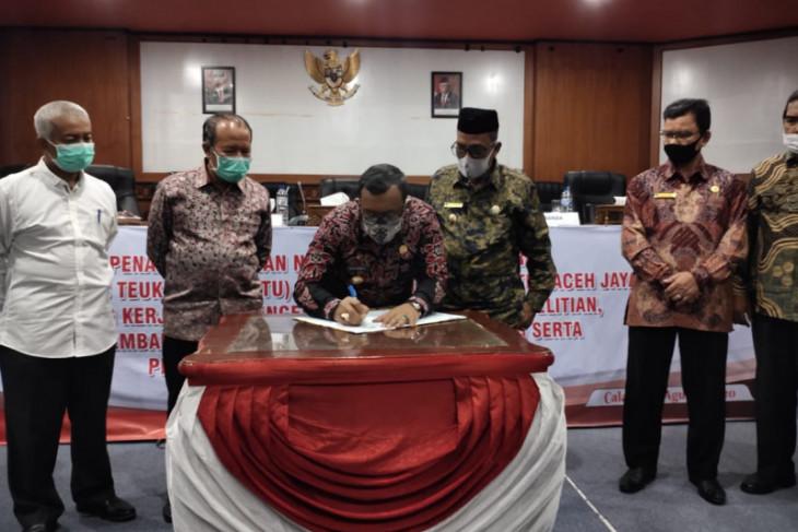 UTU Meulaboh dan Pemkab Aceh Jaya kerja sama pengembangan pendidikan