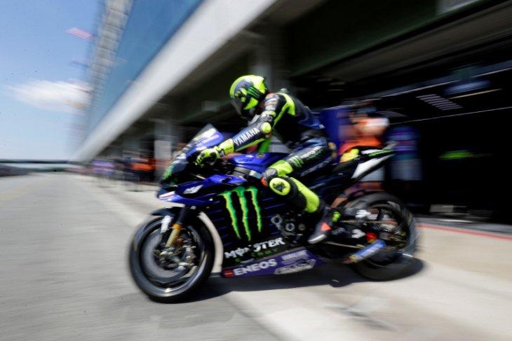 Valentino Rossi perlu hasil bagus di kualifikasi untuk peluang podium di Austria