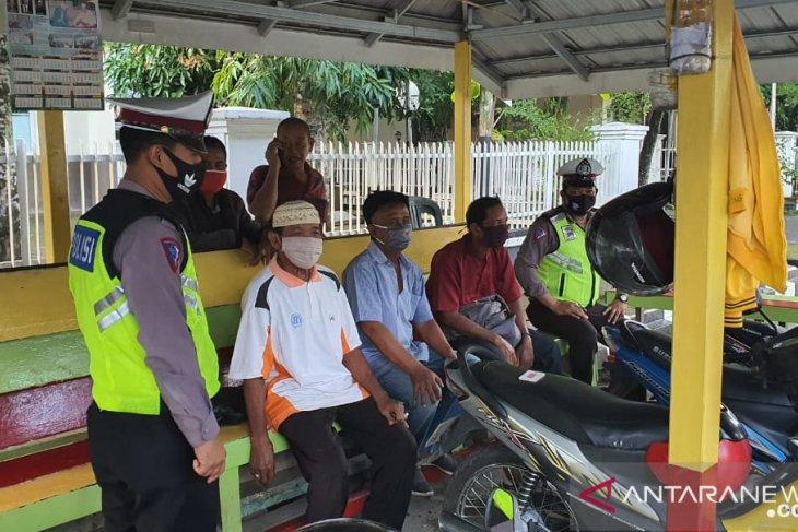 Satlantas Polres HSU sosialisasikan Perbup HSU No 33/2020