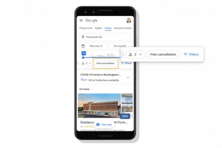 Google Travel tambah fitur baru untuk rencana perjalanan