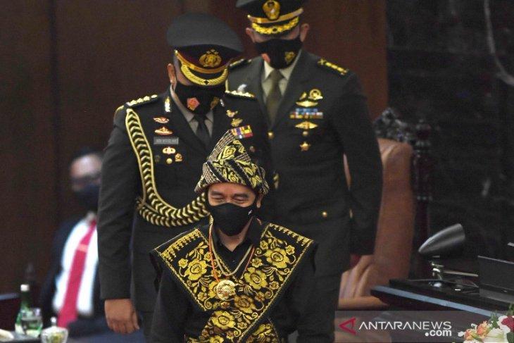 Berikut Pidato Presiden pada Sidang Tahunan MPR RI