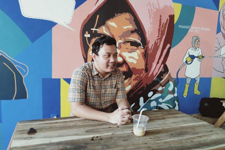 Putra Risma berharap keberuntungan dapat rekomendasi Cawawali Surabaya dari PDIP