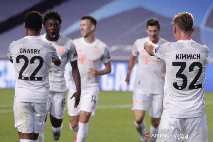 Bayern menggila, hantam Barca 8-2 untuk amankan tiket semifinal Liga Champions