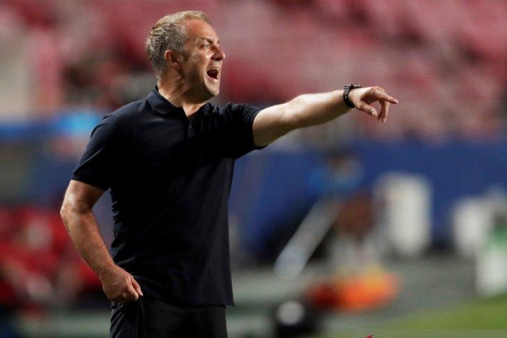 Pelatih Bayern  Hansi Flick biarkan pemainnya rayakan kemenangan atas Barcelona