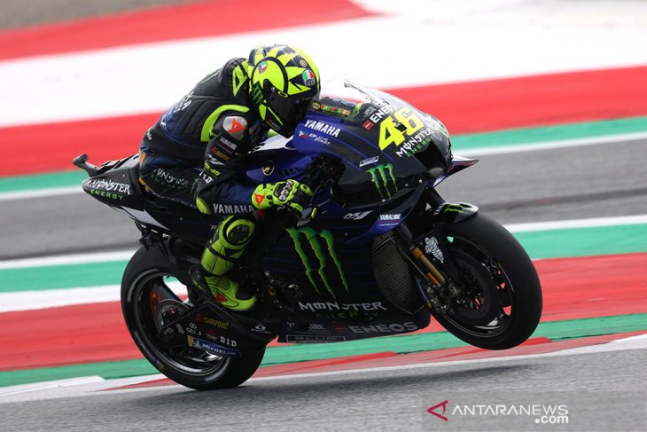 Rossi tercepat di FP3 GP San Marino