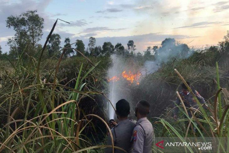Titik panas mulai muncul di  beberapa daerah di Kalsel