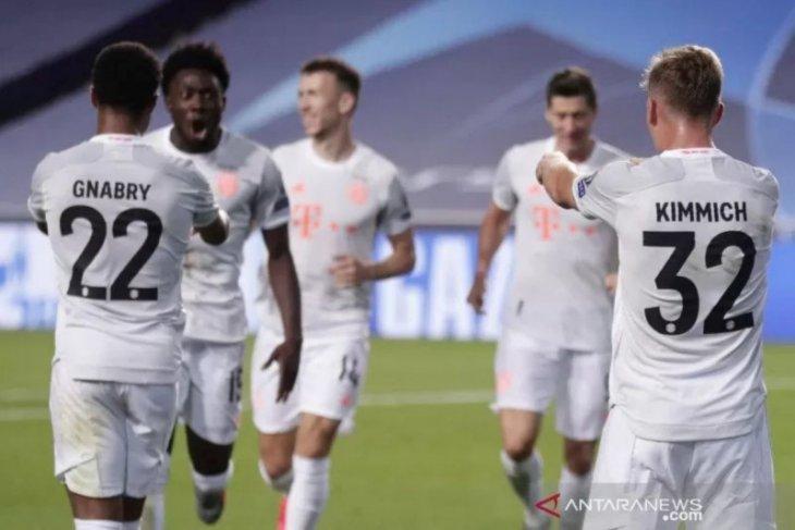 Bayern hancurkan Barca 8-2 untuk raih tiket Semifinal Liga Champions