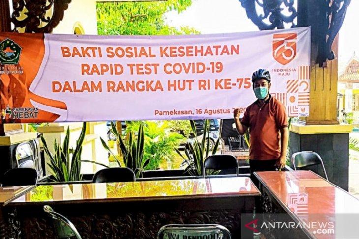 72 santri Ponpes Nurul Jadid asal Pamekasan jalani rapid test